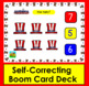 Boom Cards™ Patriotic Math Counting to 10 - Click/Touch the Answer
