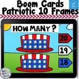 Boom Cards Patriotic Ten Frames