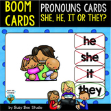 Boom Cards | Personal Pronouns Cards | Easy Grammar for Young Learners