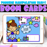 Boom Cards | Phoneme Manipulation Fairy | May First Grade
