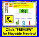 Boom Cards™ Phoneme Substitution Deck 2 - cvc words -  with Sound!