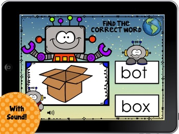 Boom Cards Ending  Sounds - Robot