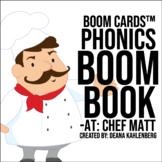 Boom Cards™️ Phonics Boom Book: Chef Matt