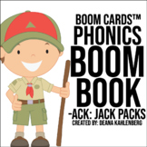 Boom Cards™️ Phonics Boom Book: Jack Packs