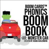Boom Cards™️ Phonics Boom Book: Monster Car