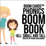 Boom Cards™️ Phonics Boom Book: Small and Tall