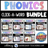 Boom Cards Phonics Click A Word Bundle Distance Learning
