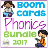 Boom Cards Phonics  Bundle 2017