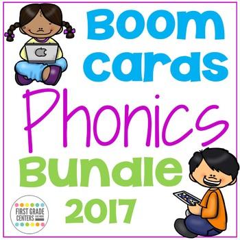 Boom Cards Phonics  Bundle 2017