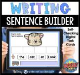 Boom Cards Phonics Sentence Builder Digital Task Cards Dis
