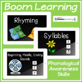 Boom Cards Phonological Awareness