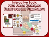Boom Cards™ Pizza Parlor Vocabulary Interactive Book