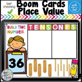 Boom Cards Place Value - Build a Two Digit Number  Distance Learning