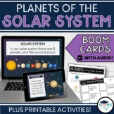 Planets of the Solar System - Space BOOM CARDS - Digital T
