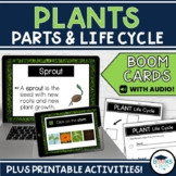 Plant Life Cycle & Parts of a Plant BOOM CARDS - Digital I