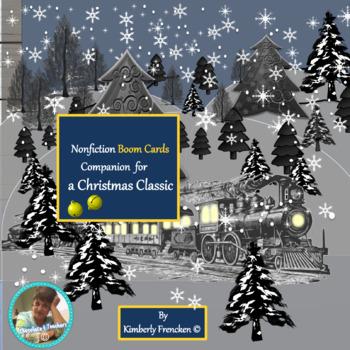 Boom Cards: Polar Express Nonfiction Book Companion