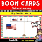 Boom Cards | Position Words  | Math Centers | Summer | May