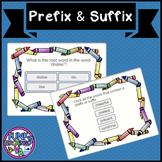 Boom Cards Prefixes and Suffixes TEI VA SOL