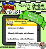 Boom Cards | Quran Studies - Surah Al-Fatihah | Reading Co