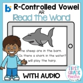 Boom Cards R Controlled Vowel AR Read the Word