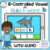 Boom Cards R Controlled Vowel AR Build a Word
