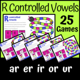 Boom Cards | R Controlled Vowels Board Game | ar er ir or ur | Distance Learning