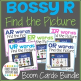 Boom Cards R Controlled Vowels Find the Pictures Bossy R