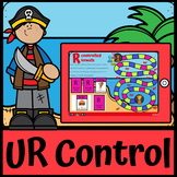 Boom Cards | R Controlled Vowels Games Board UR | Bossy R | Distance Learning