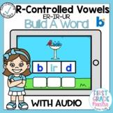 Boom Cards R Controlled Vowels ER IR UR Build a Word
