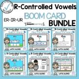 Boom Cards R Controlled Vowel ER IR UR Bundle