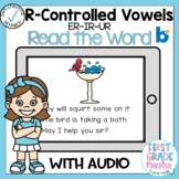 Boom Cards R Controlled Vowels ER IR UR Read the Word