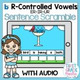 Boom Cards R Controlled Vowels ER IR UR Sentence Scrambles