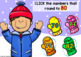 Boom Cards ROUNDING TO 10 Digital Task Cards with Winter Mittens