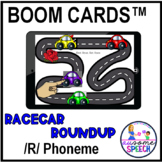Boom Cards: Racecar Roundup Gliding of /R/ Articulation Game