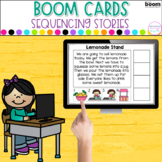 Boom Cards™ Read and Sequence | Distance Learning