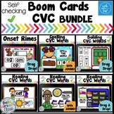 Boom Cards Reading CVC Words Phonemic Awareness BUNDLE