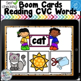 Boom Cards Reading CVC Words - For Fun