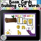 Boom Cards Building CVC Words