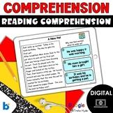 Boom Cards  Reading Comprehension