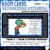 Boom Cards™ Recognising Hyperbole- Figurative Language - D