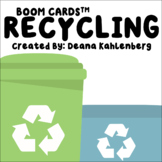 Boom Cards™️ Recycling