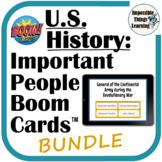 Boom Cards™ Review of 80 Important People from U.S. Histor