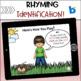 Boom Cards:  Rhyming Identification
