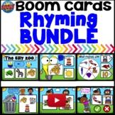 Boom Cards Rhyming Intervention BUNDLE