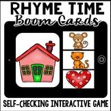 Boom Cards - Rhyming (kindergarten)
