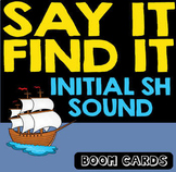 Boom Cards | SH Sound Speech & Inferencing | Speech and Language Therapy
