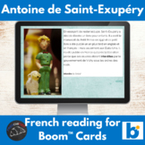 Boom Cards™ - Saint-Exupéry reading for French learners