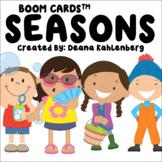 Boom Cards™️ Seasons