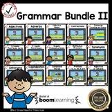Boom Cards Second Grade Grammar Bundle