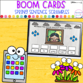Boom Cards™ Sentence Scrambles │ Distance Learning